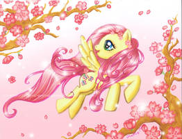 Fluttershy's Magic by For-He-who-is-grand
