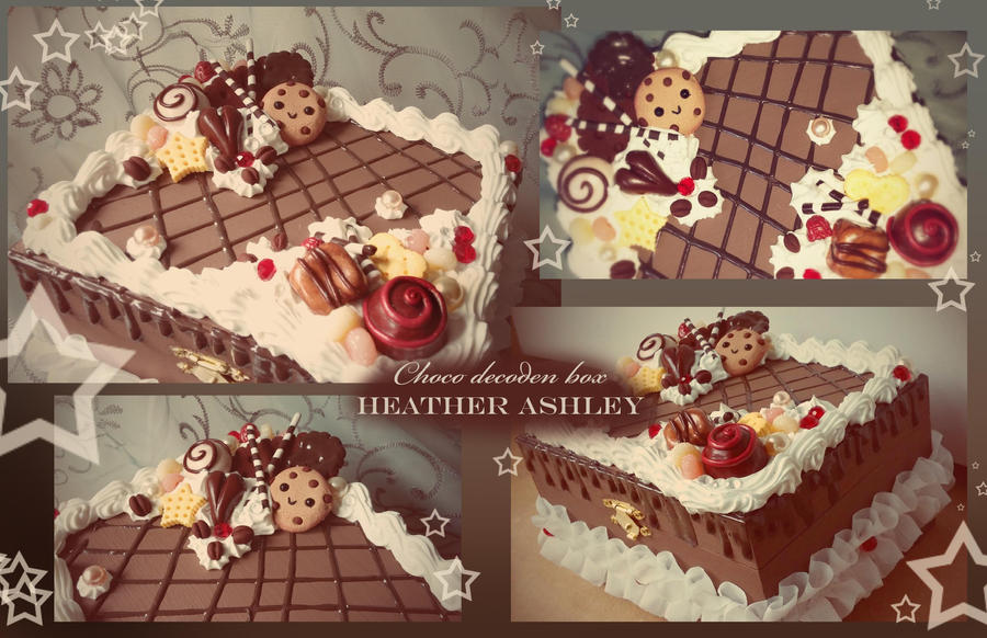Choco Deco Box by Heather Ashley by For-He-who-is-grand