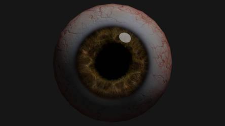 Eyeball Render by Jed-Stuart