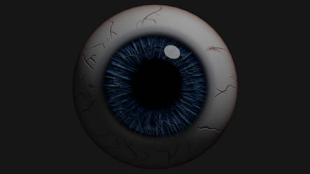 Eyeball Render - Final by Jed-Stuart