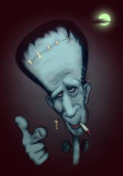 Keith Richards as Frankenstein