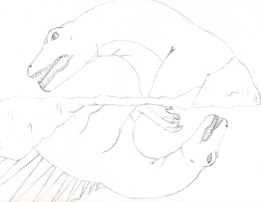 Sarcosuchus vs. Spinos...