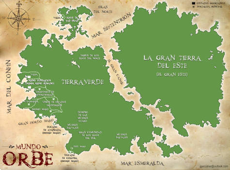 Map of Orbe