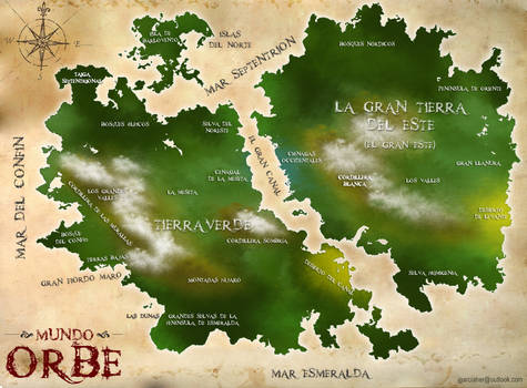 Physical map of Orbe