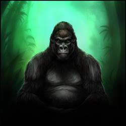 Gorilla by mrXylax