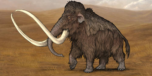 Evosaur art - Customization - Mammoth by mrXylax