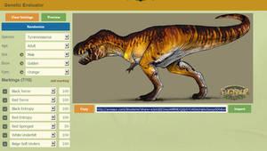 Evosaur: Customizator