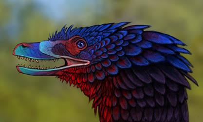 Evosaur: Velociraptor study by mrXylax