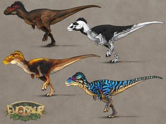 Evosaur: Customization - Albertosaurus by mrXylax