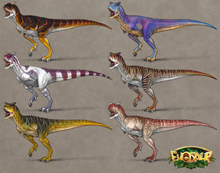 Evosaur: Customization - Carnotaurus by mrXylax