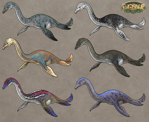 Evosaur: Customization - Plesiosaur by mrXylax