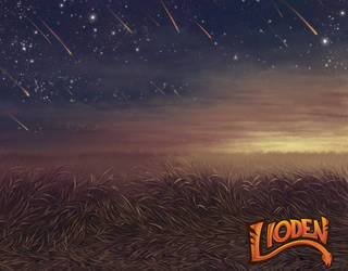 Lioden: July Background - Draconids by mrXylax