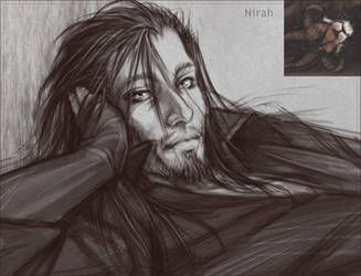 Lioden: Nirah as human by mrXylax