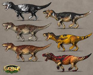 Evosaur: Customization - Gorgonops by mrXylax