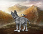 Wolvden: Main Wolf art (puppy)