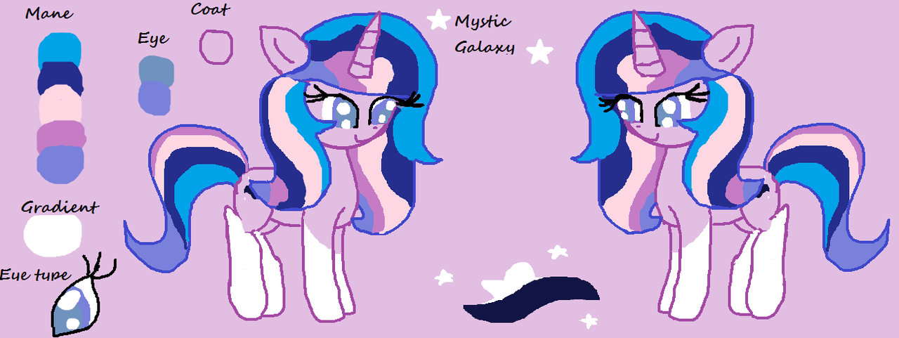 Mystic Galaxy (For MoggyMawee`s OC competition) by DerpaliciousMuffin