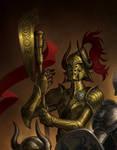 heroes- Gold armor design