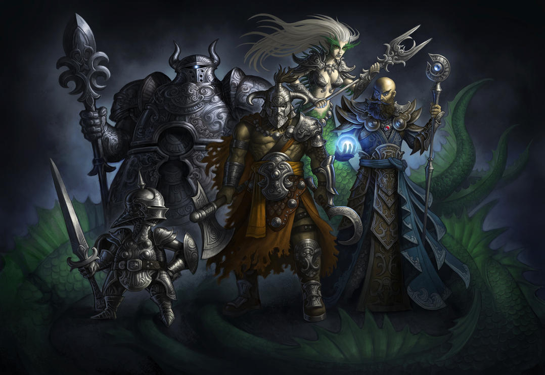Villains by GoldenDaniel