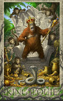 Jungle Book- King Louie by GoldenDaniel