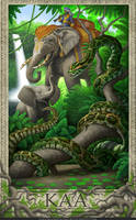 Jungle Book- Kaa by GoldenDaniel