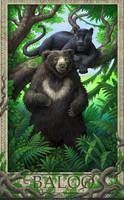 Jungle Book- Baloo by GoldenDaniel
