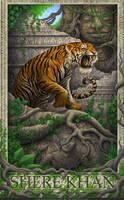 Jungle Book- Shere Khan by GoldenDaniel