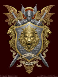 Coat of Arms- Delacroix