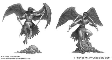 Darklands- Raven warriors by GoldenDaniel