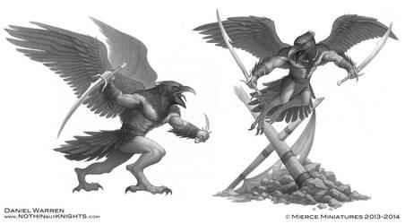 Darklands- Raven warriors 2 by GoldenDaniel