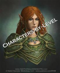 Elf Druid by GoldenDaniel
