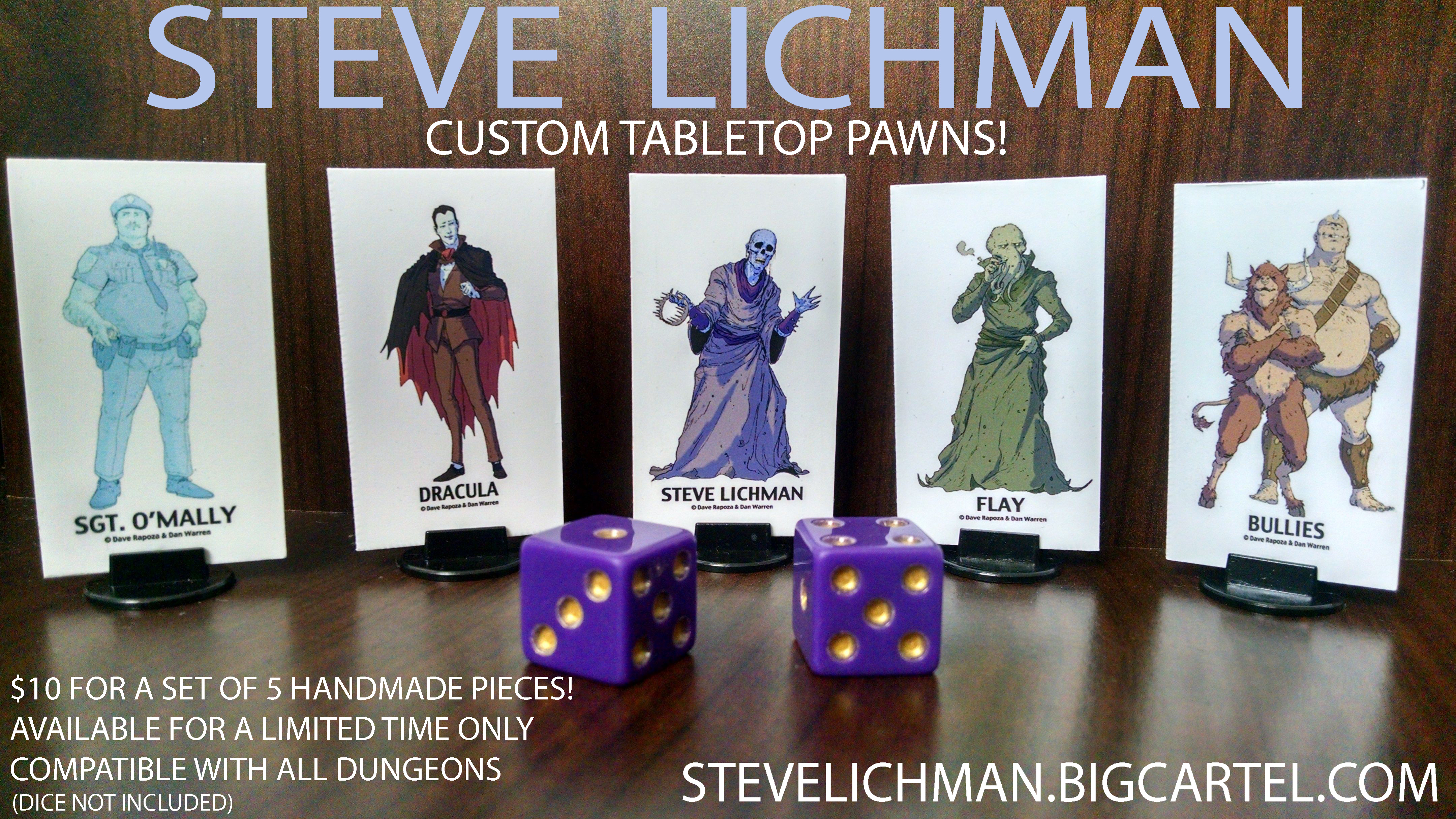 Steve Lichman Pawn Pack! by GoldenDaniel