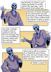 Steve Lichman Kickstarter and free 60 pg preview! by GoldenDaniel