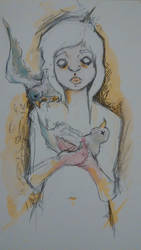 Birdgirl by randomperpson1214