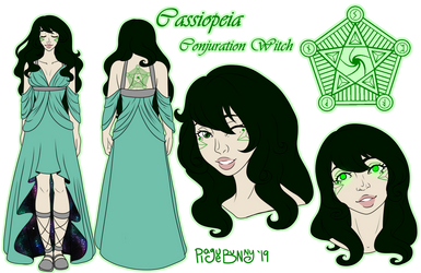 Cassiopeia Reference Sheet by ThePlagueBunny