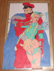Bison and  Cammy