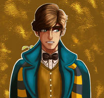Newt Scamander by Fawkes29