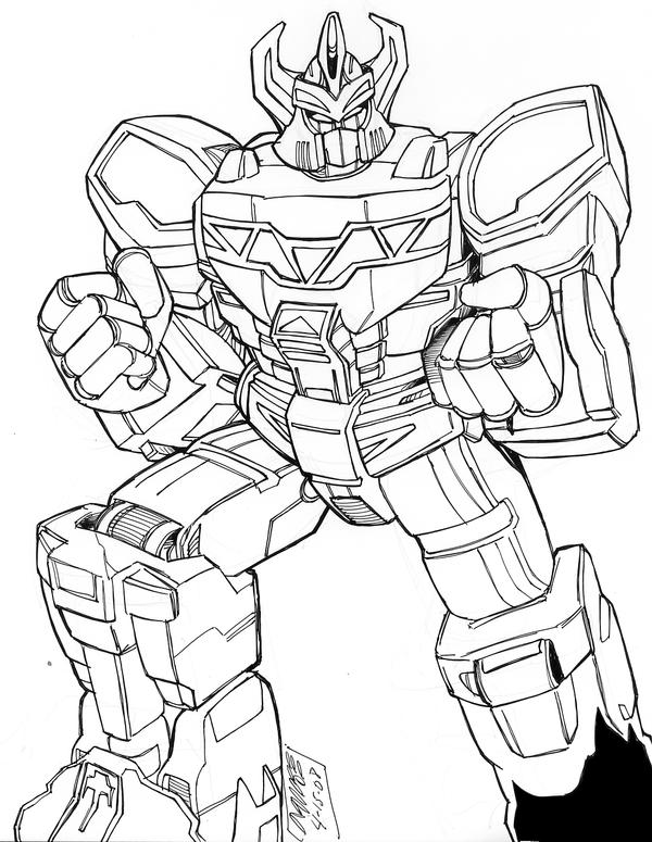Megazord Coloring Sheets Coloring Pages Power Rangers Megazord Coloring Pages