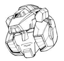 SIDESWIPE Head Detail
