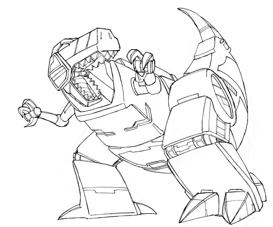 grimlock coloring page transformer grimlock free colouring pages