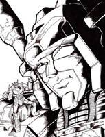 METROPLEX and OPTIMUS PRIME by Optimus8404