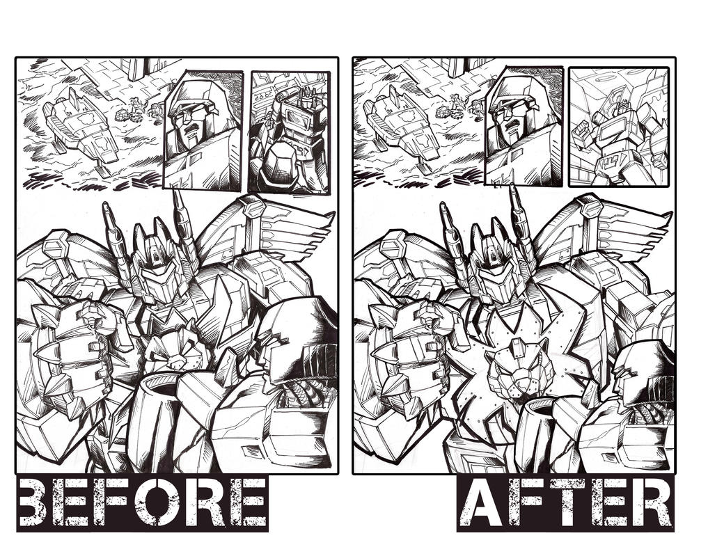 Transformers: Before and After by Optimus8404
