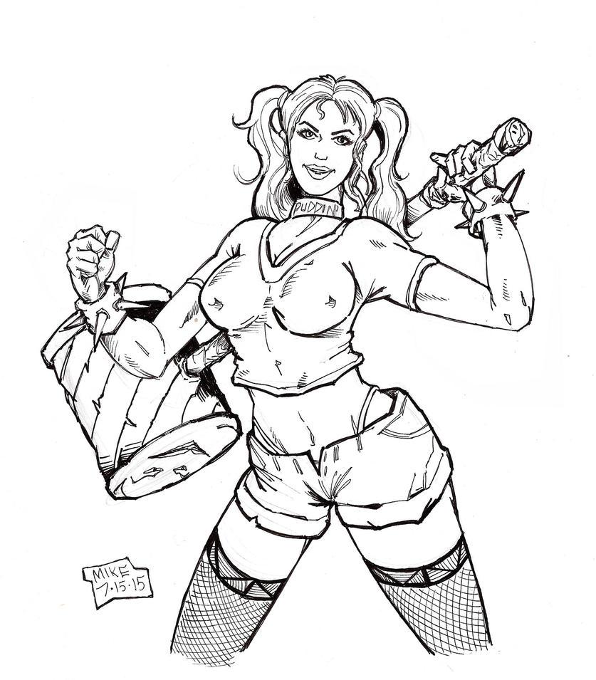 Harley Quinn by Optimus8404