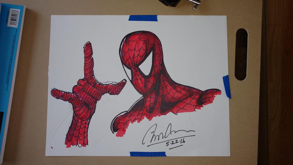 Amazing Spider-Man by Optimus8404