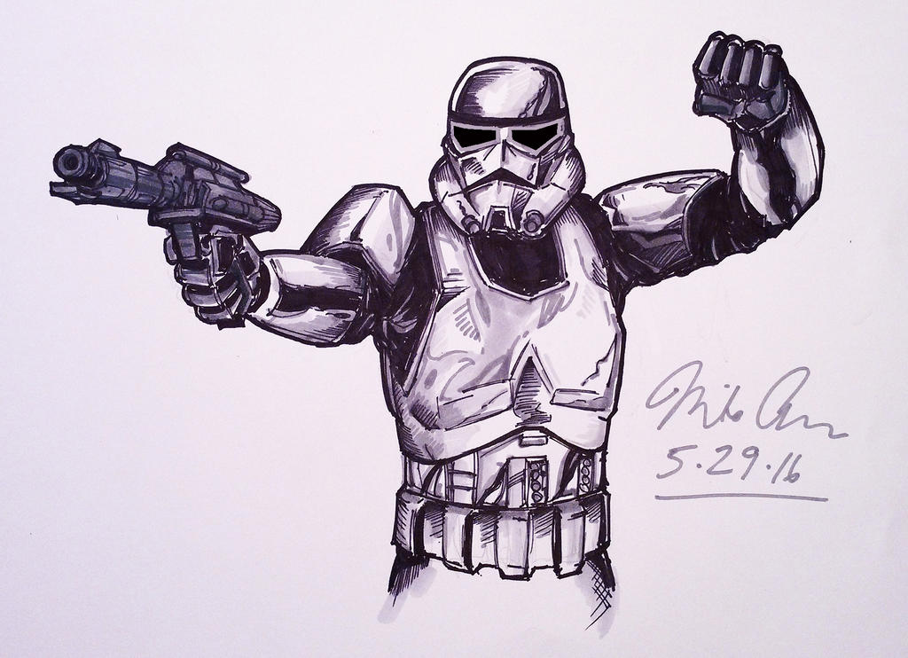 STORM TROOPER color by Optimus8404