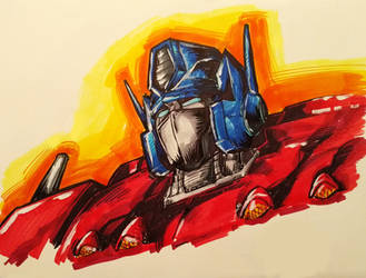 Optimus Prime by Optimus8404