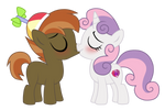 Commision: Botton Mash x Sweetie Belle