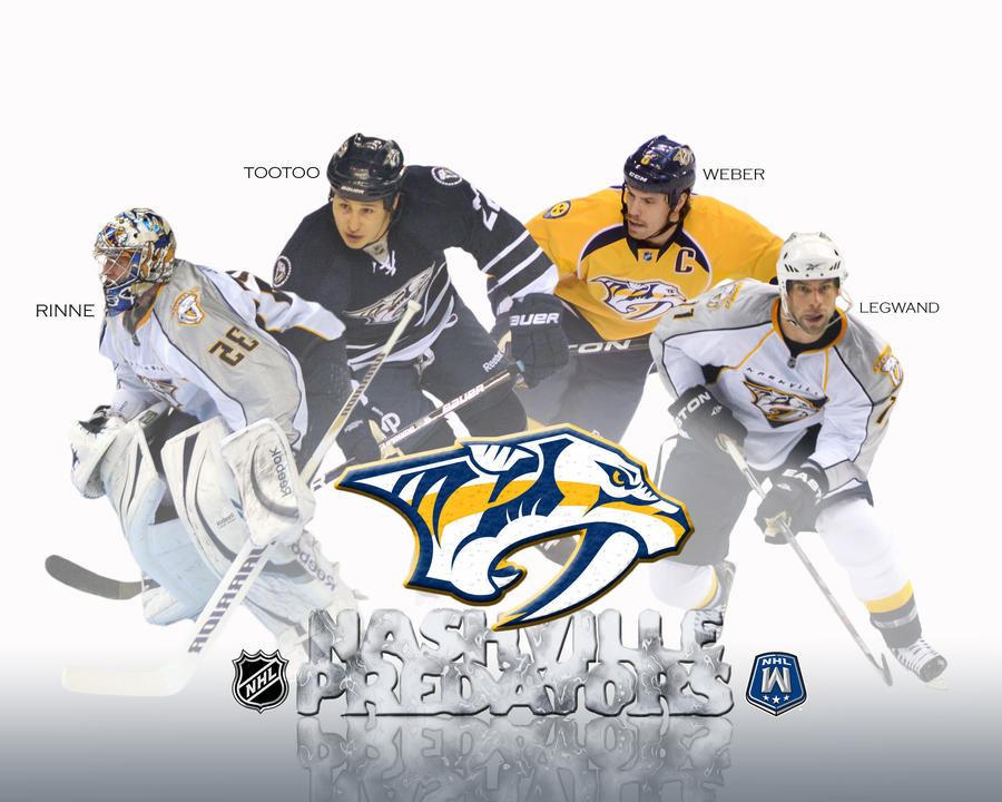 Nashville Predators Poster By JASEighty6