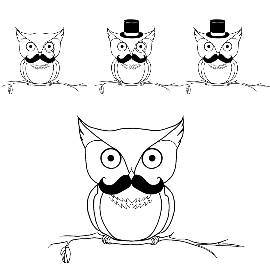 Meesh's Owls by Nadyanilo