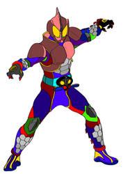 Kamen Rider Amazon Beta by Shadowmwape