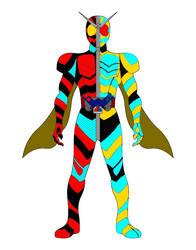 Kamen Rider Demigod by Shadowmwape